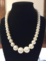 """18 ½"""" Gradated Fresh Water Pearls Necklace"""