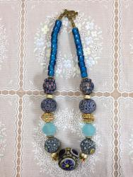 Beautiful intricately painted beads /  $150.00 each